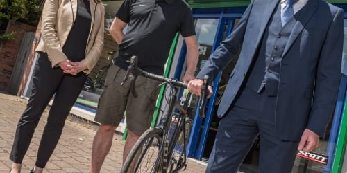 Bike business on track for success thanks to a specialist business loan