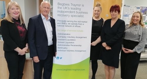 Begbies Traynor Staffordshire Welcomes Return of Former Partner