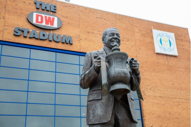 Wigan Athletic Football Club in administration