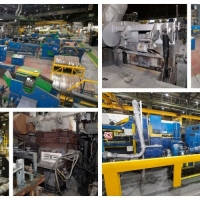 NON-FERROUS HORIZONTAL CASTING LINES, TANDEM MILL, SCALPING MACHINE, CNC GRINDER, SAMPLE MILLER, ANNEALING FURNACES, ETC