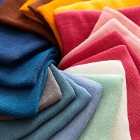 Coloured fabric