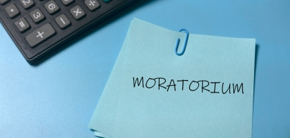 Moratorium and calculator